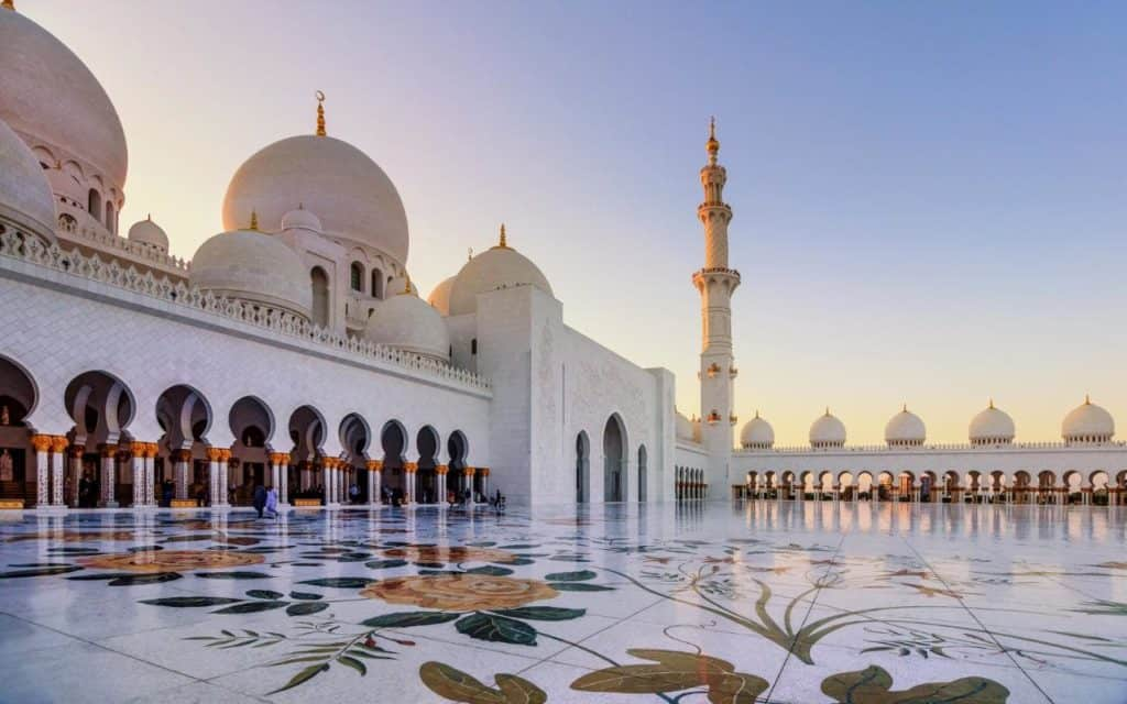 Abu Dhabi Grand Mosque | The Vacation Builder