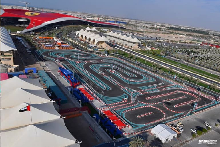 Best Things to do at Yas Island   Kart Zone   The Vacation Builder