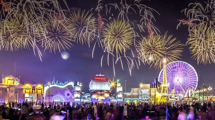 Where to Spend New Years Eve in Dubai   New Years Eve at Global Village Dubai