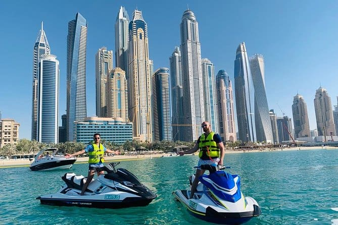 Where to Jet Ski in Dubai | The Vacation Builder