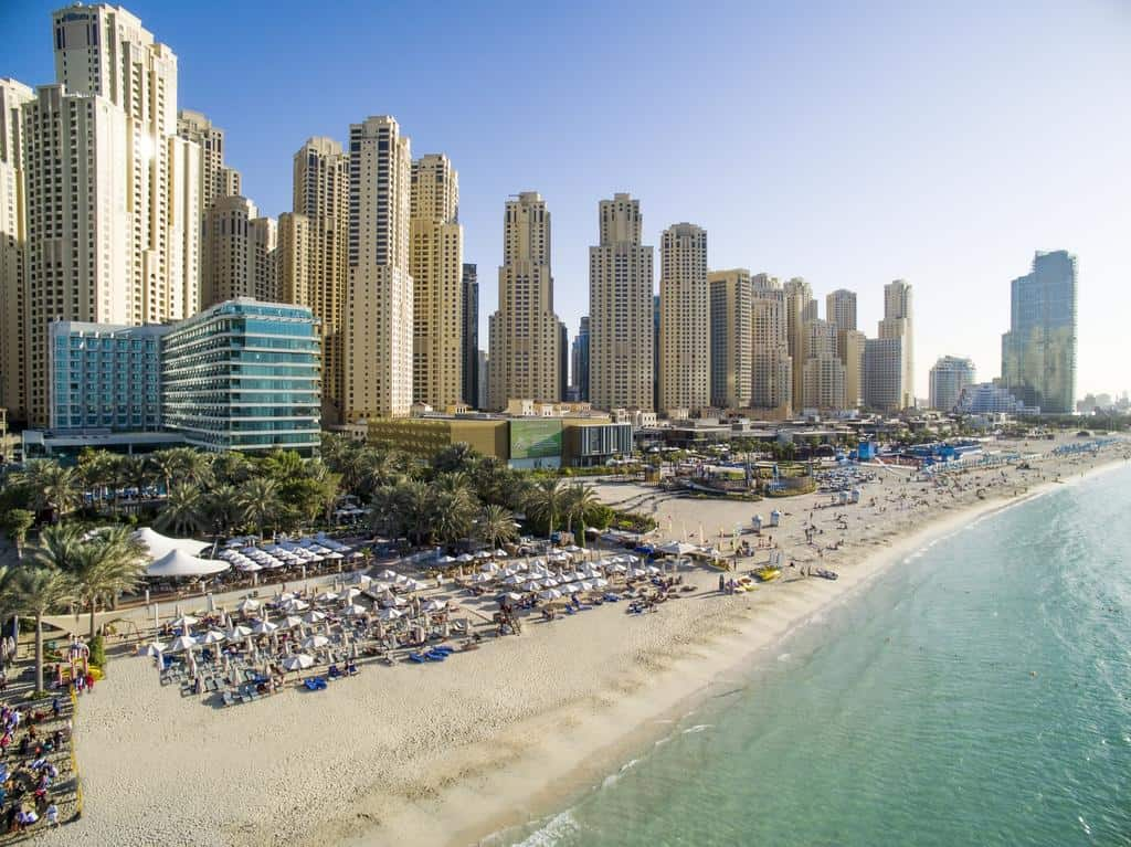 JBR Dubai   The Vacation Builder   Cost of Hotels for a Week in Dubai