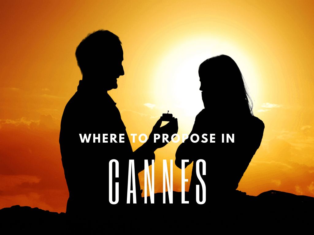 Where to propose in Cannes