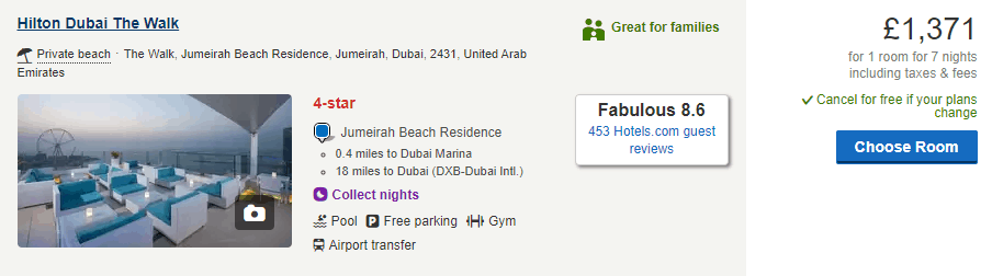 7 Nights at The Hilton Dubai   How Much is a Week in Dubai by The Vacation Builder