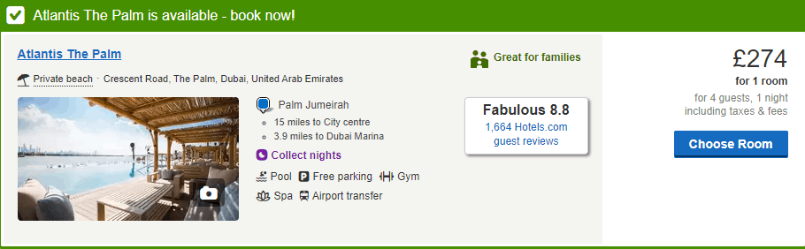 How Much is a Week in Dubai - Atlantis The Palm Cost   The Vacation Builder
