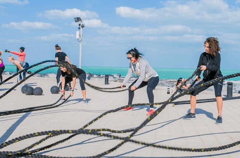 Fit Hub Outdoor Fitness Studio   Outdoor Gyms in Dubai   The Vacation Builder