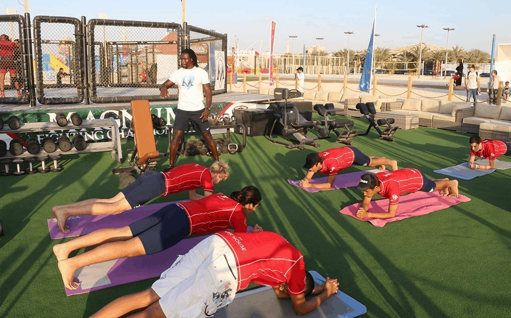 Magnum Fitness is One of the Best Outdoor Gyms in Dubai   The Vacation Builder