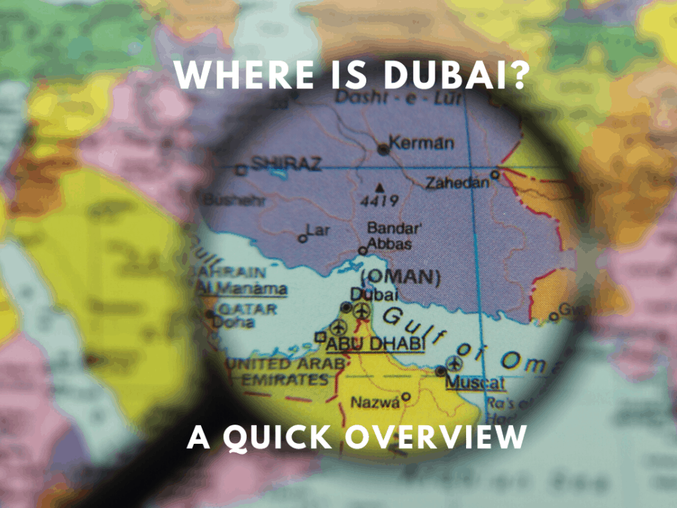 Where is Dubai   The Vacation Builder