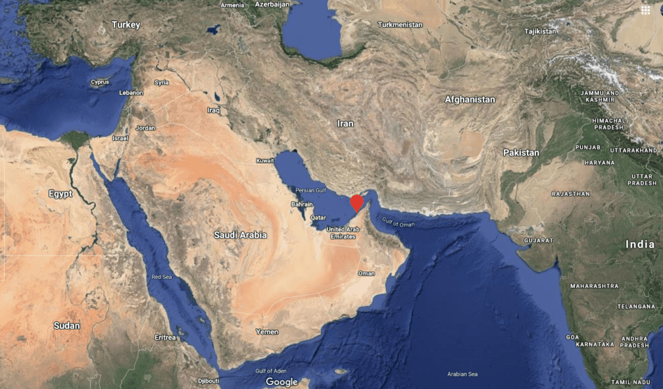 A Closer Look at the Location of Dubai   Where is Dubai   The Vacation Builder
