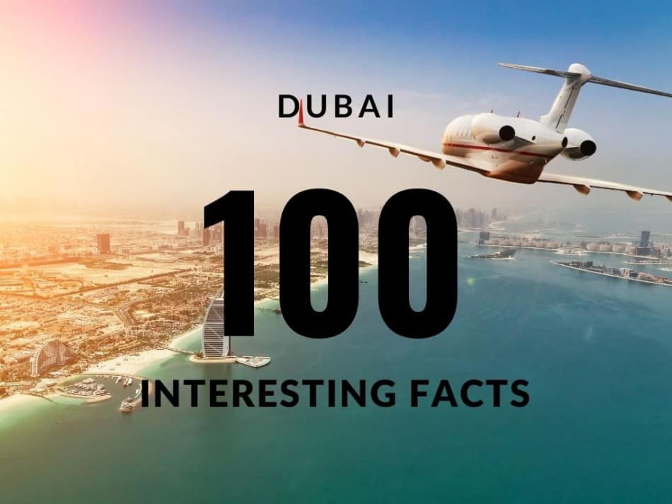 100 Interesting Facts About Dubai | The Vacation Builder