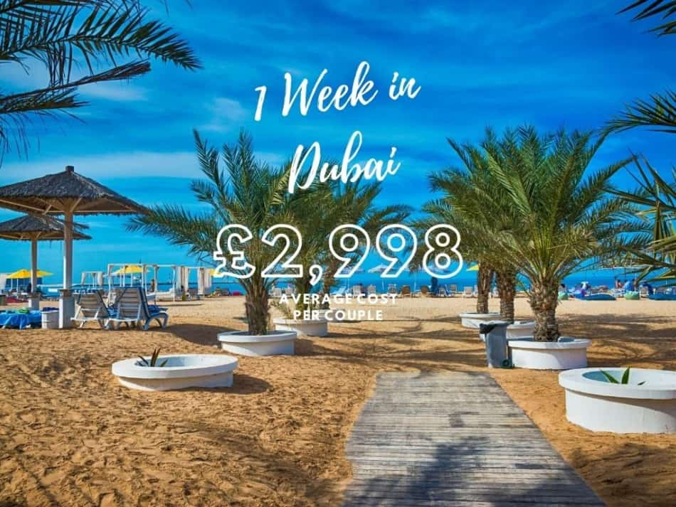 The Cost of a Week in Dubai   The Vacation Builder