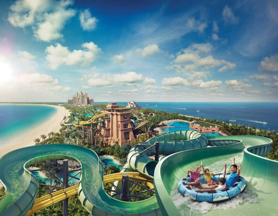 Best Places to Celebrate a Birthday in Dubai for Free - Aquaventure | The Vacation Builder