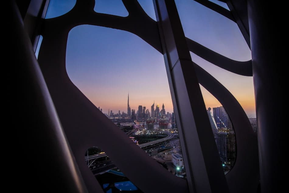 View from Dubai Frame | Things to do at Zabeel Park | The Vacation Builder