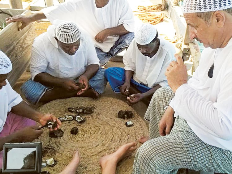 Pearl Diving in Dubai   The Vacation Builder