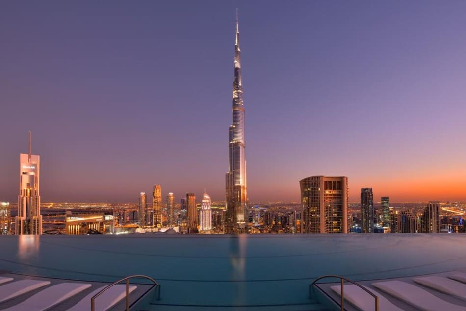 Best Places in Dubai for a Honeymoon - Address Sky View | The Vacation Builder