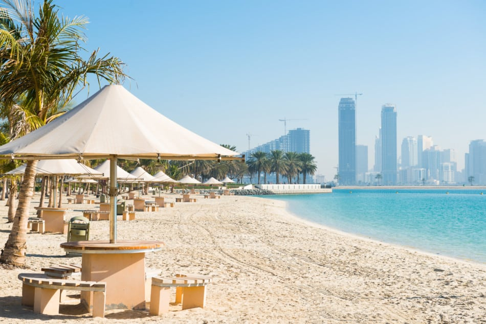 The Best Beach in Dubai Revealed - Which Has The Best Views - Al Mamzar Beach | The Vacation Builder
