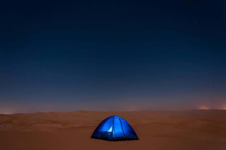 Where to go Camping in Dubai - Liwa Desert | The Vacation Builder