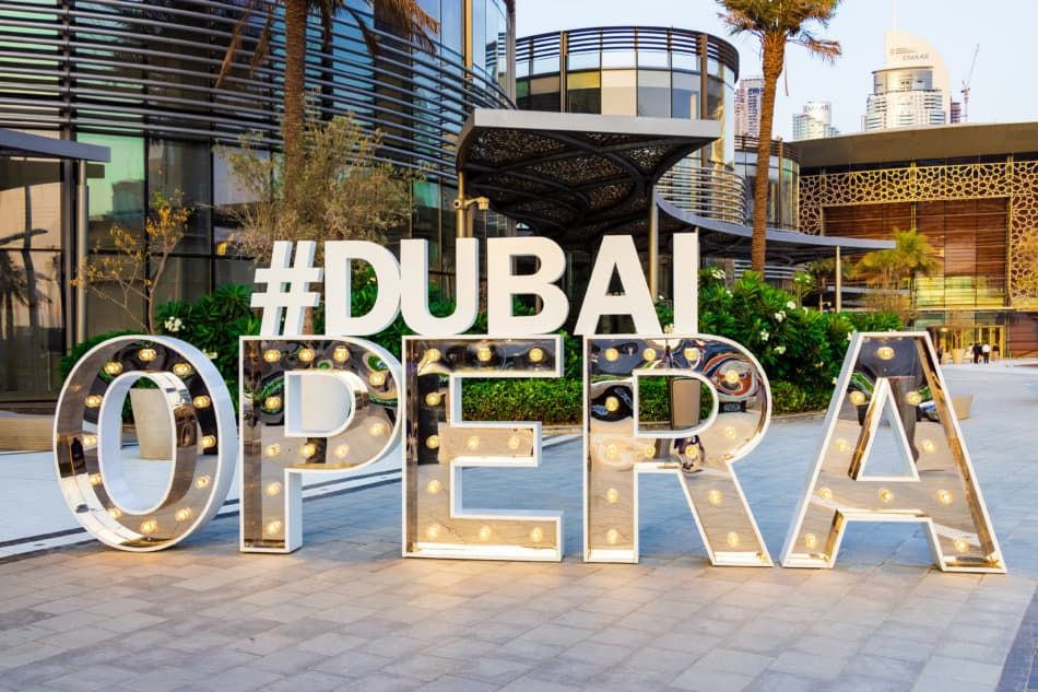 What's Happening in Dubai in May - Dubai Opera | The Vacation Builder