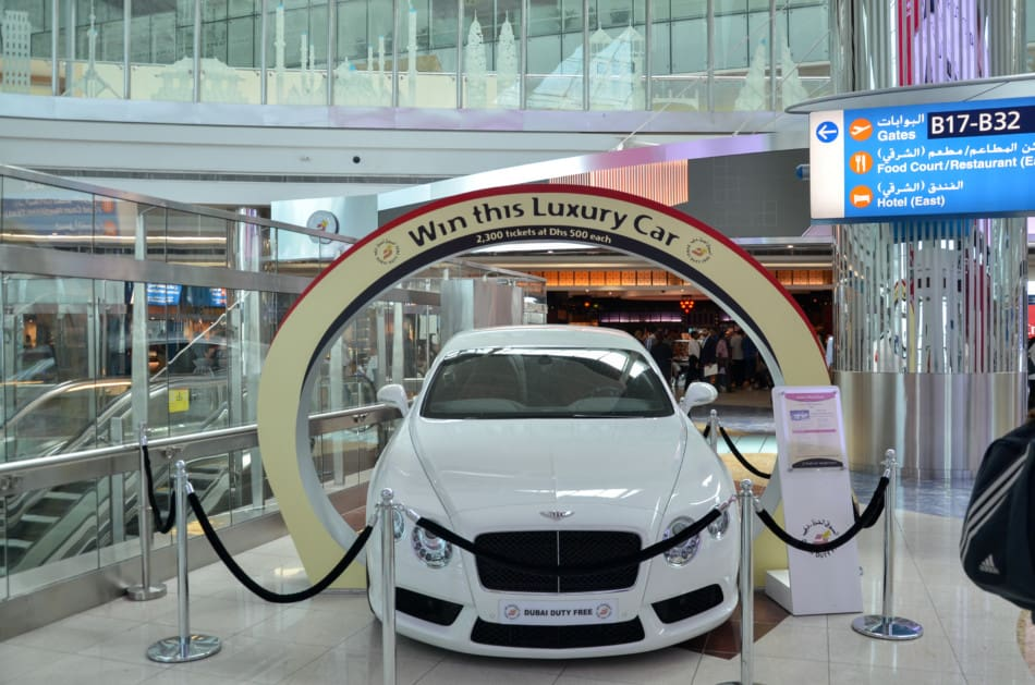Where to see Supercars in Dubai - Dubai Airport   The Vacation Builder