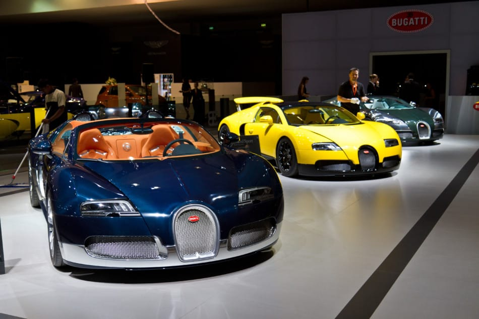 Where to See Supercars in Dubai - Dubai Motor Show   The Vacation Builder