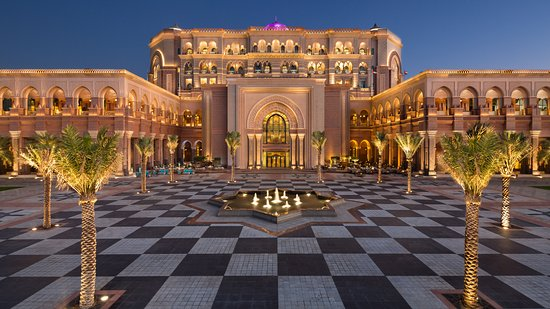 Free Things to do in Abu Dhabi - Emirates Palace   The Vacation Builder