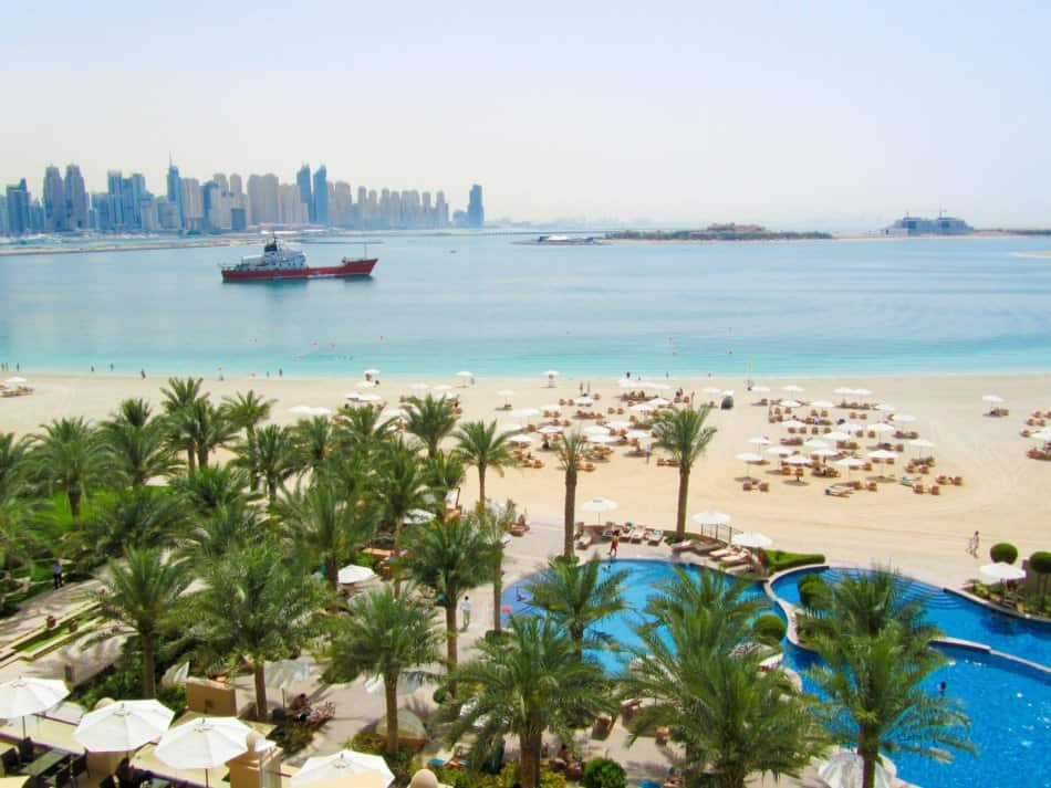 Fairmont The Palm or Atlantis - Which Has The Best Beach   The Vacation Builder