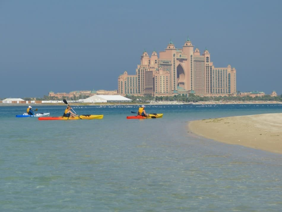 Kayaking in Dubai - The Palm   The Vacation Builder