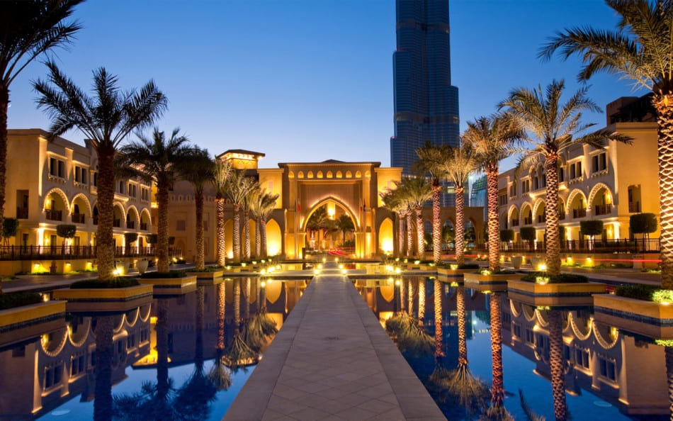 Best Places for a Honeymoon in Dubai - Palace | The Vacation Builder