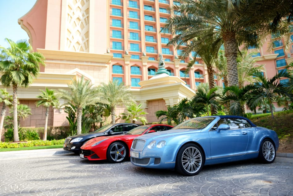 Where to see Supercars in Dubai - Atlantis The Palm   The Vacation Builder