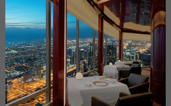 Best Places to Celebrate a Birthday in Dubai - At.Mosphere  | The Vacation Builder