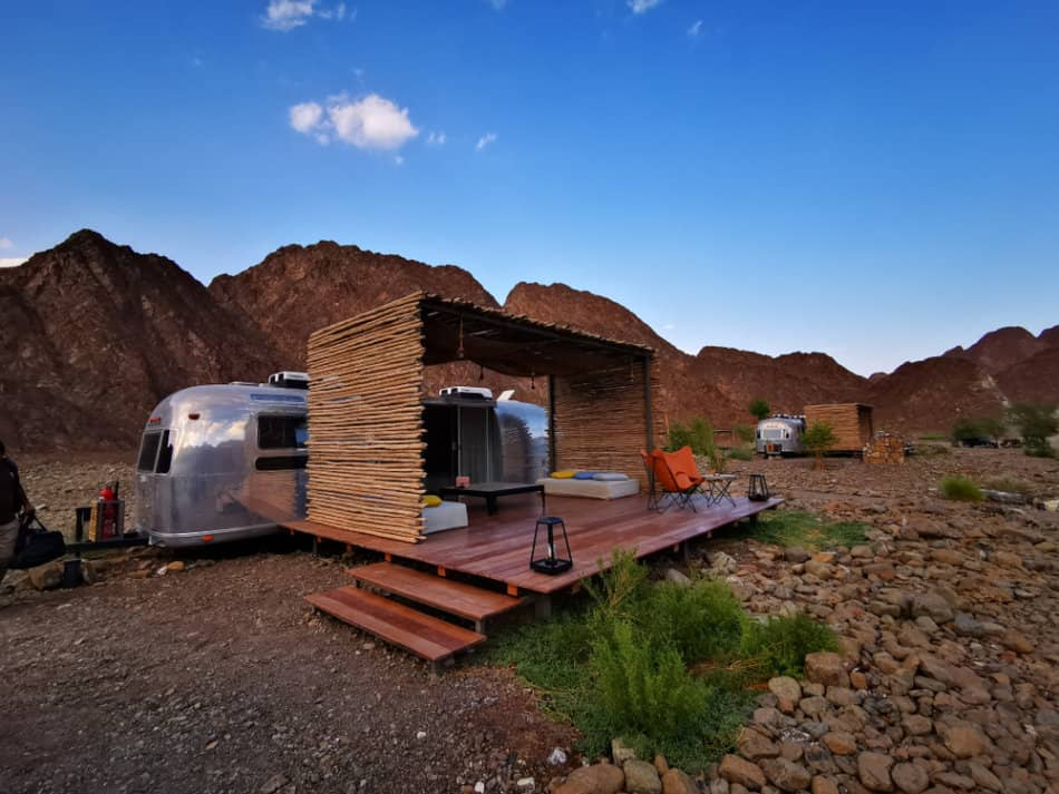 Where to go camping in Dubai - Hatta Sedr | The Vacation Builder
