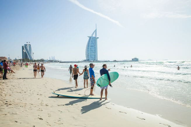 Sunset Beach is Safe For Swimming in the Sea in Dubai | The Vacation Builder