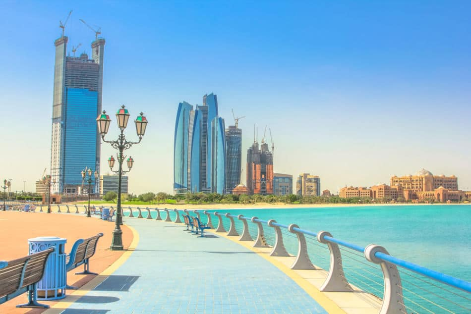 Free Things to do in Abu Dhabi - Corniche   The Vacation Builder