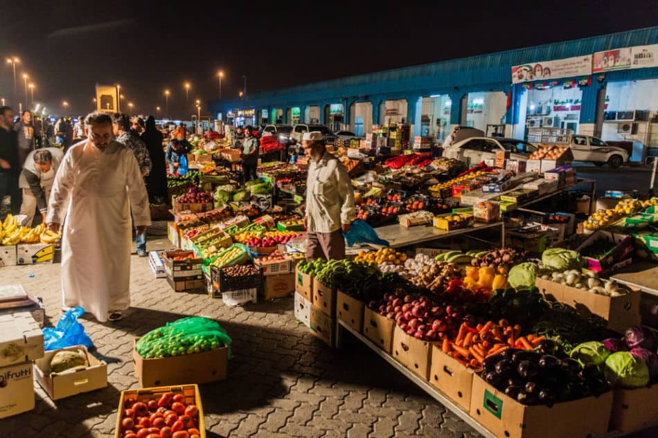 Free Things to do in Abu Dhabi - Al Mina Fruit and Veg Souk   The Vacation Builder