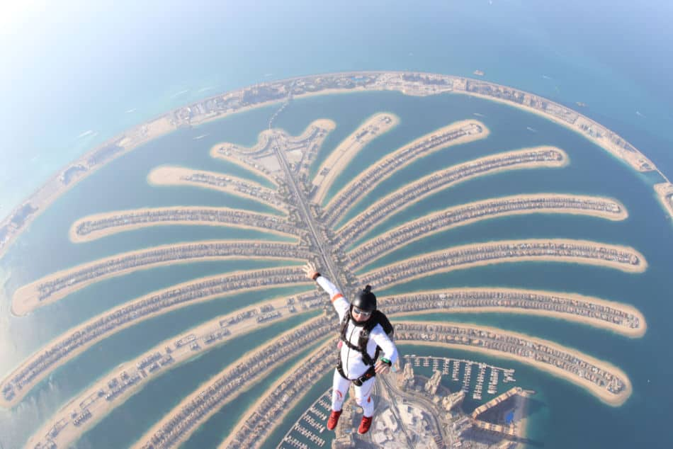 Dubai vs Muscat for Things to Do - Skydiving in Dubai | The Vacation Builder