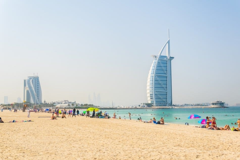 The Palm or Jumeirah Beach | The Vacation Builder