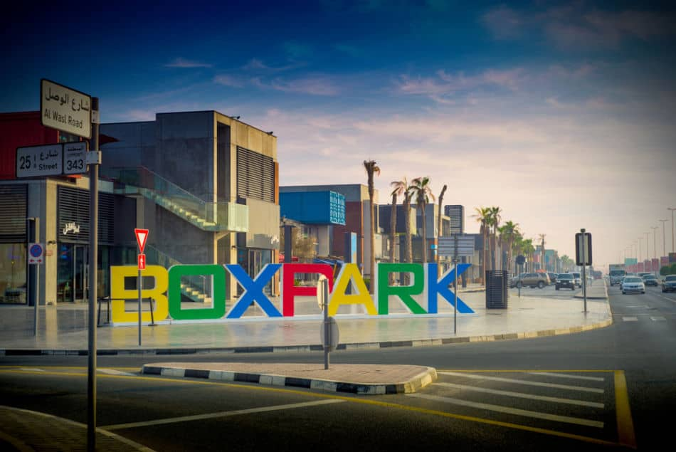 Stores at BoxPark Dubai   The Vacation Builder