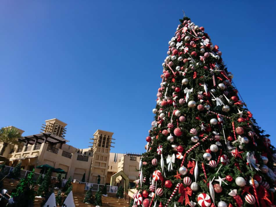 Things to do in Dubai in December? -Madinat Jumeirah Festive Market   The Vacation Builder