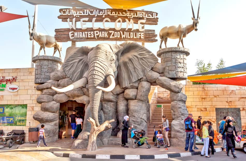 Where to Propose in Dubai   Emirates Park Zoo   The Vacation Builder