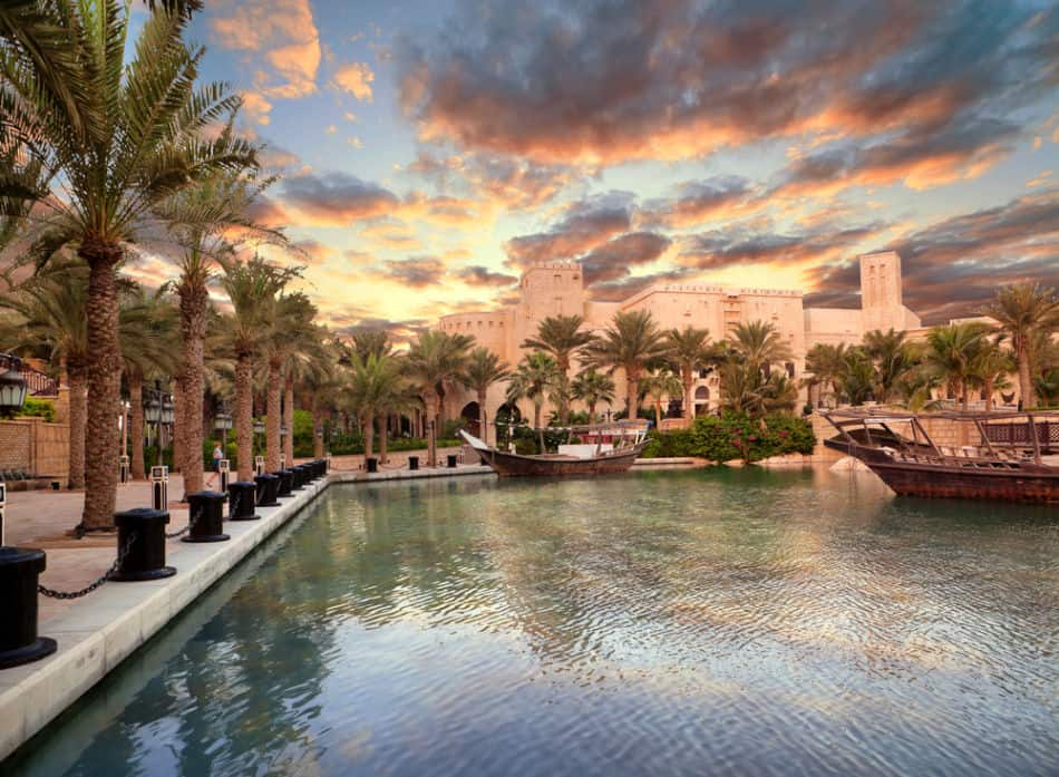 Best Places in Dubai to Watch Sunrise - Madinat Jumeirah | The Vacation Builder