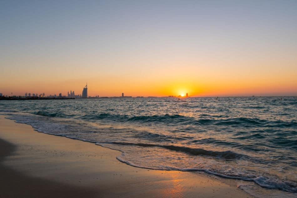 Best Places to Watch Sunrise in Dubai - Kite Beach | The Vacation Builder