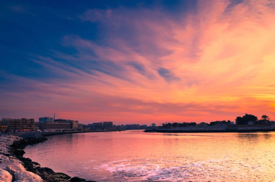 Best Places to Watch Sunrise in Dubai - Deira Creek | The Vacation Builder
