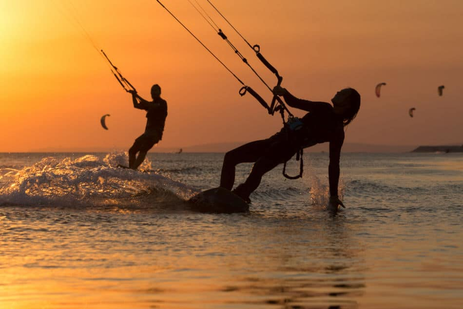 Things to do at Al Quwain Beach - Kite Surfing | The Vacation Builder