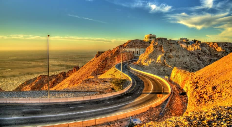 Things to do at Jebel Hafeet - Ride The Mountain Road   The Vacation Builder