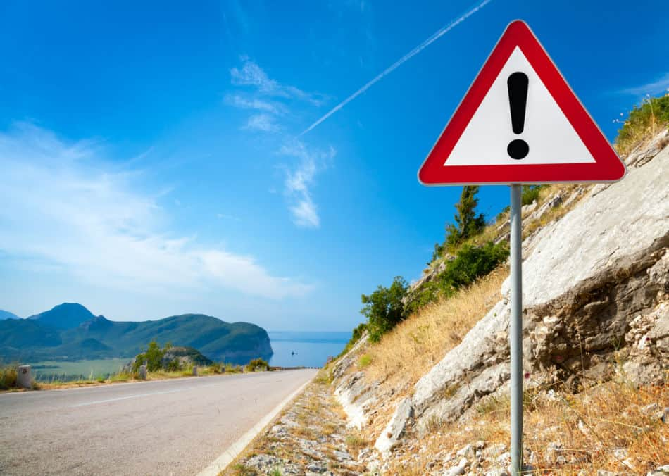 Common Traffic Signals and Signs in Dubai to Look Out For - Warning Sign   The Vacation Builder