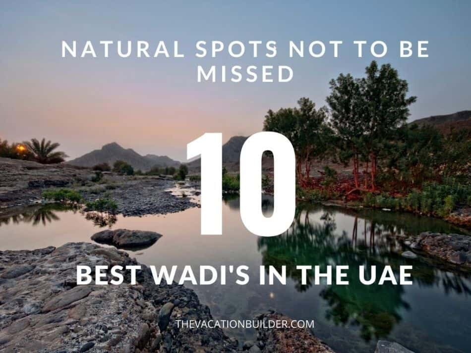 Best Wadis in UAE - Natural Spots Not to be Missed | The Vacation Builder