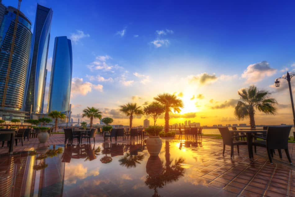 Best Places to See Sunrise & Sunset in Abu Dhabi - Etihad Towers | The Vacation Builder