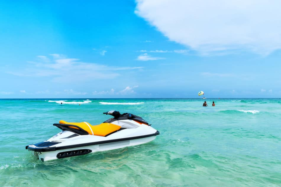 Things to do at Kite Beach   Jet Ski   The Vacation Builder