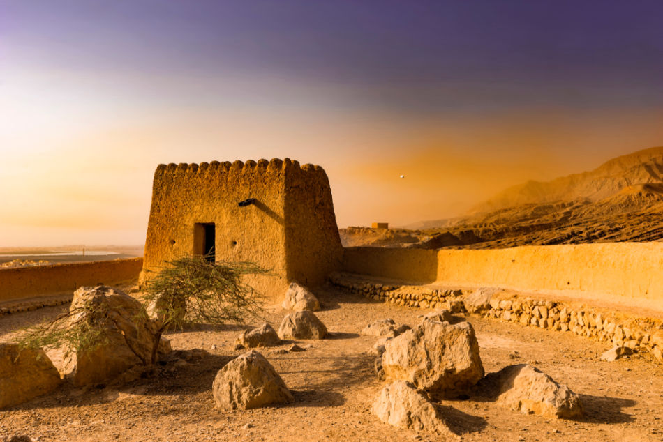 Best Places to Watch Sunrise and Sunset in Ras Al Khaimah - Dhayah Fort | The Vacation Builder