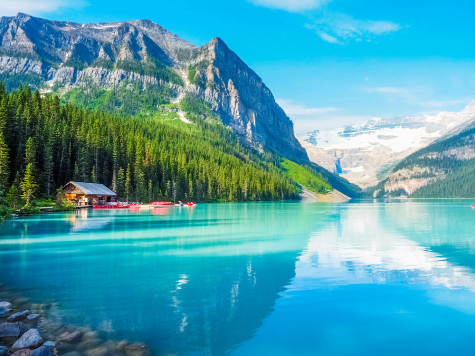 Dubai or Canada - Which is Better for Expats - Topography, Lake Louise, Canada | The Vacation Builder