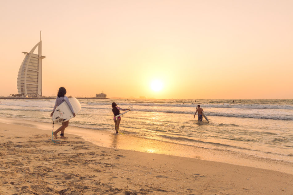 The Best Beach in Dubai Revealed - Which Beach Has The Best Views - Sunset Beach | The Vacation Builder